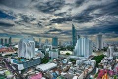 Mundo central (CTW) dos centros comerciais a baixa famosa dentro de Banguecoque Imagem de Stock Royalty Free