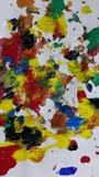 Mundo coloreado Fotos de archivo libres de regalías