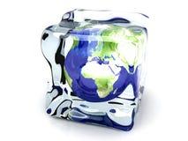 Mundo congelado ilustración del vector