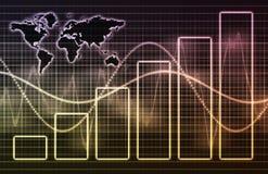 Mundo corporativo do negócio da tecnologia Imagem de Stock
