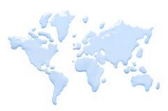 Mundo da água Fotografia de Stock Royalty Free
