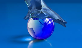 Mundo da água Fotos de Stock Royalty Free