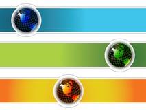Mundo da bandeira Imagens de Stock