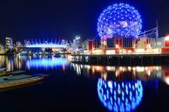 Mundo da ciência de Vancôver, BC, Canadá Fotografia de Stock Royalty Free