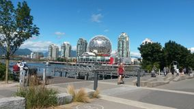 Mundo da ciência, Vancôver de Telus, Canadá Fotos de Stock Royalty Free