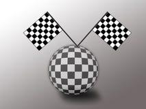 Mundo da competência de carro Imagens de Stock Royalty Free