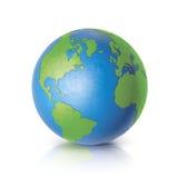Mundo da cor no fundo branco Imagem de Stock Royalty Free