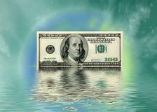 Mundo da moeda Imagens de Stock Royalty Free