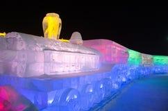 Mundo da neve do gelo em harbin, 2014 Imagens de Stock