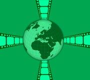 Mundo da película ilustração royalty free