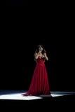 Mundo da sinfonia de Sarah Brightman imagens de stock royalty free