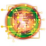 Mundo da tecnologia Imagem de Stock Royalty Free