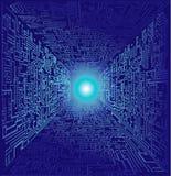Mundo de computador Imagem de Stock