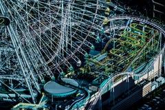 Mundo de Cosmo visível da torre do marco de Yokohama foto de stock