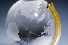 Mundo de cristal imágenes de archivo libres de regalías