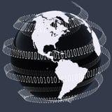 Mundo de Digitaces Foto de archivo libre de regalías