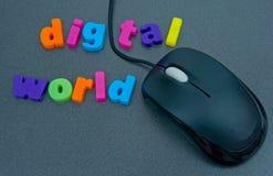 Mundo de Digitas. Foto de Stock Royalty Free