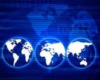 Mundo de Digitas Imagens de Stock Royalty Free