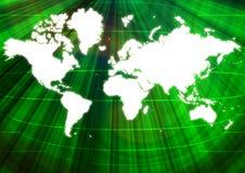 Mundo de Digitas Imagens de Stock