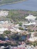 Mundo de Disney de arriba imagenes de archivo