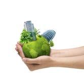 Mundo de Eco Imagem de Stock Royalty Free