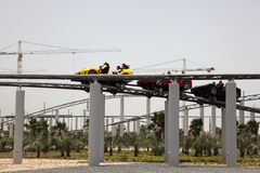 Mundo de Ferrari en Abu Dhabi Foto de archivo