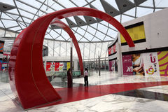 Mundo de Ferrari en Abu Dhabi Imagenes de archivo