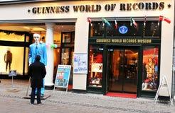 Mundo de Guinness dos registros Imagens de Stock