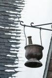 Mundo de Hogsmeade Wizarding de la caldera de Harry Potter foto de archivo