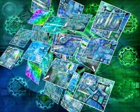 Mundo de Internet Foto de archivo libre de regalías
