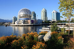 Mundo de la ciencia en Vancouver imagen de archivo