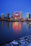 Mundo de la ciencia que construye Vancouver Canadá Foto de archivo libre de regalías