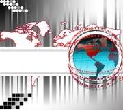 Mundo de la correspondencia libre illustration