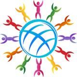 Mundo de la diversidad Imagen de archivo libre de regalías
