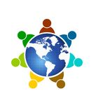 Mundo de la gente Imágenes de archivo libres de regalías