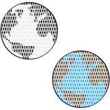 Mundo de la gente ilustración del vector