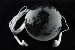 Mundo de la música Fotos de archivo
