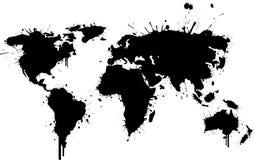 Mundo de la pintada libre illustration