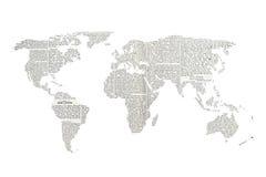 Mundo de las noticias Imágenes de archivo libres de regalías