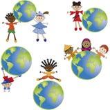 Mundo de los niños Imagen de archivo libre de regalías
