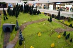 Mundo de Miniatural de la tierra del país imágenes de archivo libres de regalías