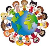 Mundo de niños Imágenes de archivo libres de regalías