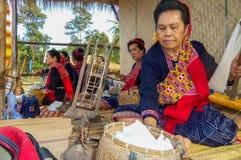 Mundo de Phu Tai del trabajo en los 6 Foto de archivo libre de regalías