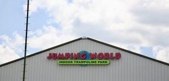 Mundo de salto Memphis Fotos de Stock