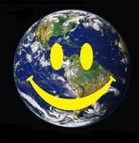 Mundo de sorriso Imagem de Stock Royalty Free