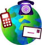 Mundo de uma comunicação Fotografia de Stock Royalty Free