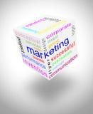Mundo de uma comunicação de mercado Fotos de Stock