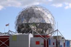 Mundo de Vancouver de la ciencia Foto de archivo libre de regalías