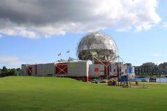 Mundo de Vancouver de la ciencia Fotos de archivo