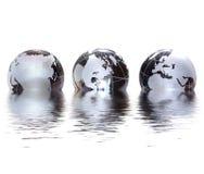 Mundo de vidro Imagem de Stock Royalty Free